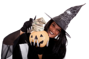 Trick or treat money