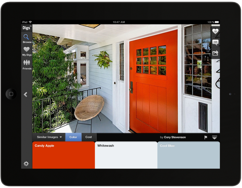 Zillow Digs Color Release -- Red Door