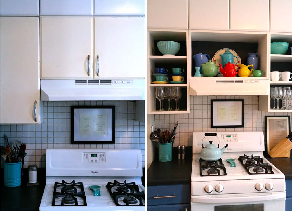 Kitchen Cabinet Makeover : DIY Kitchen Cabinet Makeover