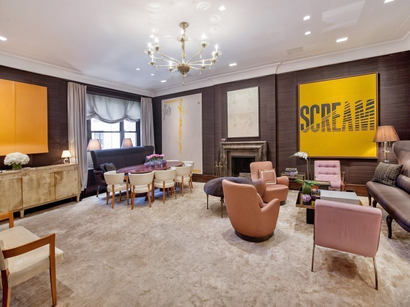 Glamorous childhood home of jacqueline kennedy onassis for for 740 park avenue apartment for sale