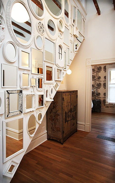 Make time to put together a gallery wall. Design by bright designlab.