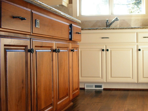 Cabinet refacing how to update your kitchen for less for Kitchen cabinets for less