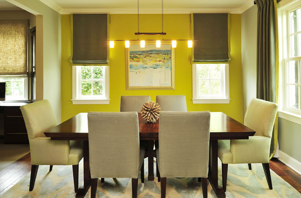 Hot colors for summer citrus tones zillow porchlight for Dining room color scheme ideas