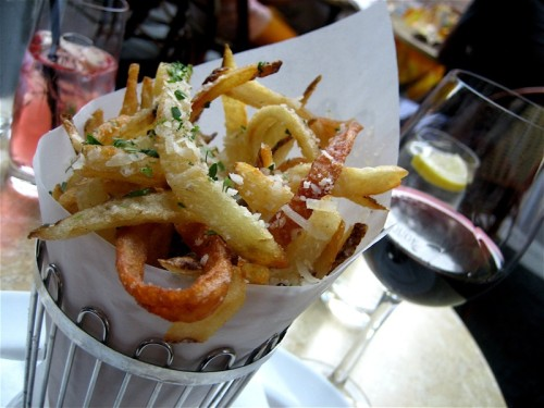 Truffle parmesan pommes frites from Rouge in Rittenhouse Square. Source: Jackie Turner