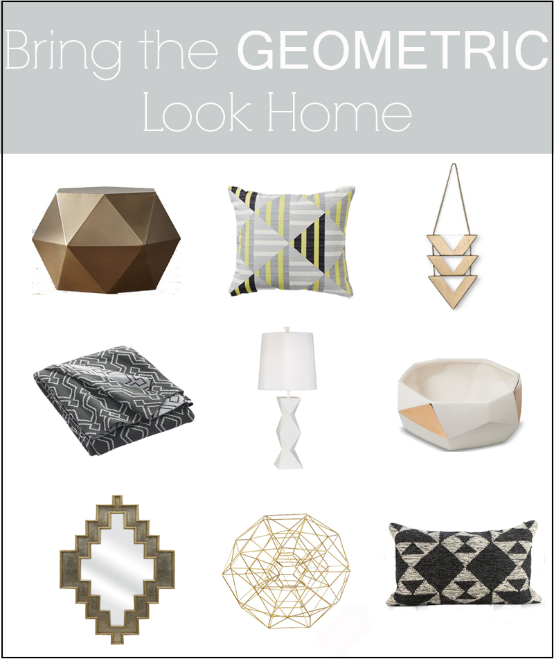 geometric inspired home decor border revised