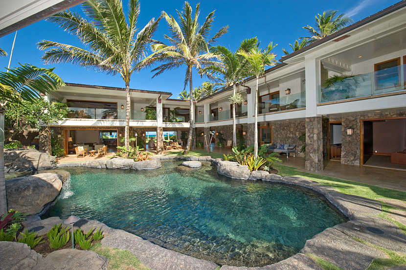 House of the week celebrity hawaiian estate hosted for Hawaii home builders