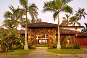 hawaiian estate front door