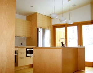 Maple plywood kitchen cabinets. Source: cltad.arts.ac.uk