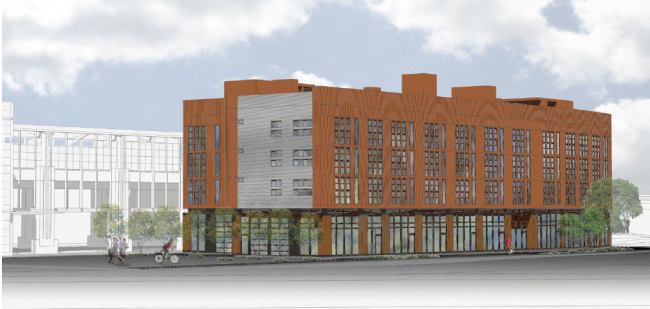 The Mt. Baker Station Lofts will create another space for artists in Seattle. Source: The Transit Blog