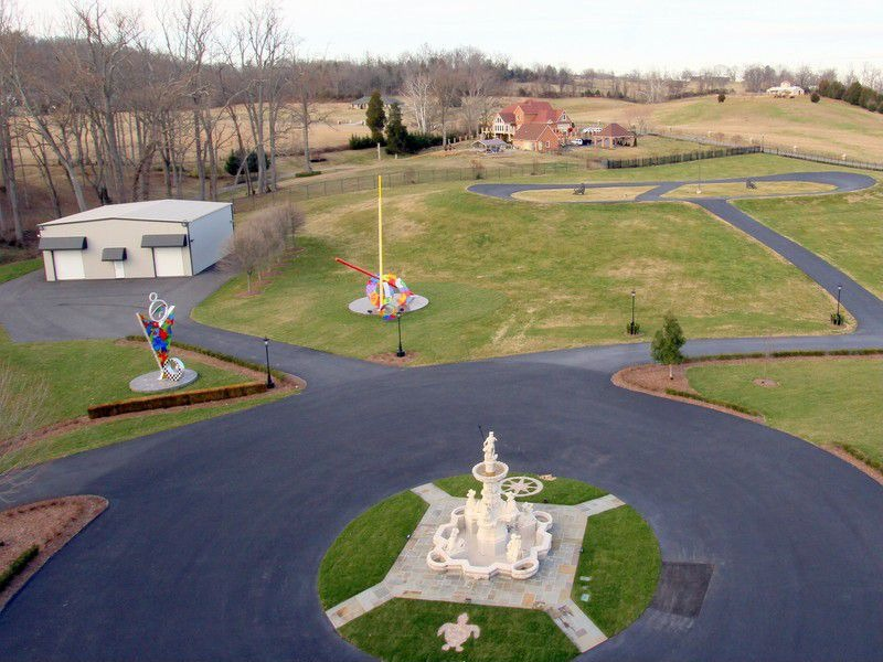 House of the week tennessee castle with a race track for House of tracks