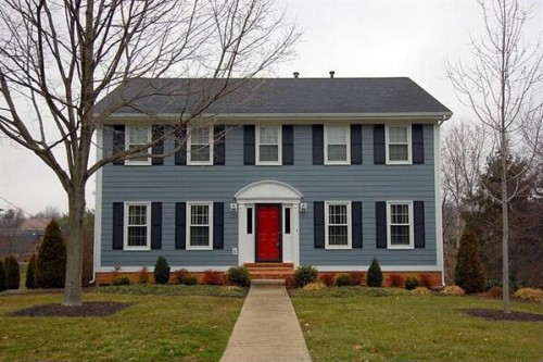 Red Front Door from Zillow