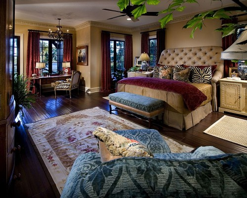 Romantic Bedroom Wild
