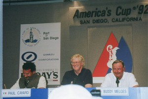 Koch at the America's Cup. Source: Wikipedia Commons