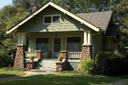 Bungalows Are A Type Of Small Craftsman Home And Typically Have Low