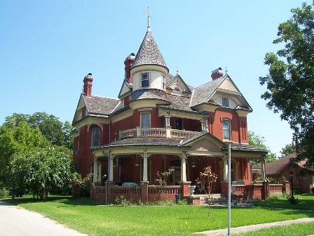 Home architecture style regional or not zillow research for Victorian house plans with turrets