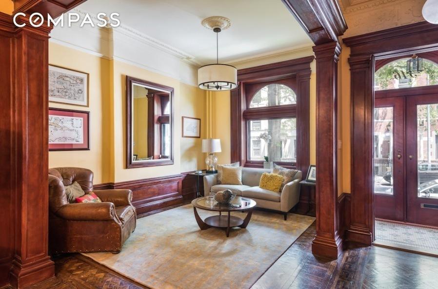 Park Slope Brownstone Living Room