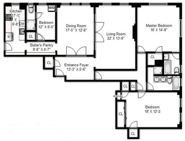 Types Of Apartments In NYC StreetEasy Inspiration 4 Bedroom Apartment Nyc Set Property