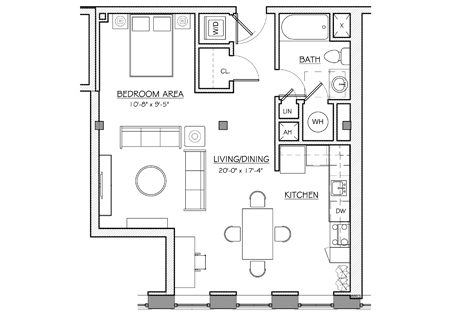 Types of apartments in nyc streeteasy for Apartment floor plans new york